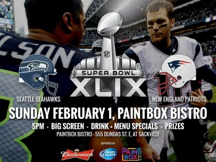Superbowl XLIX At Paintbox Bistro