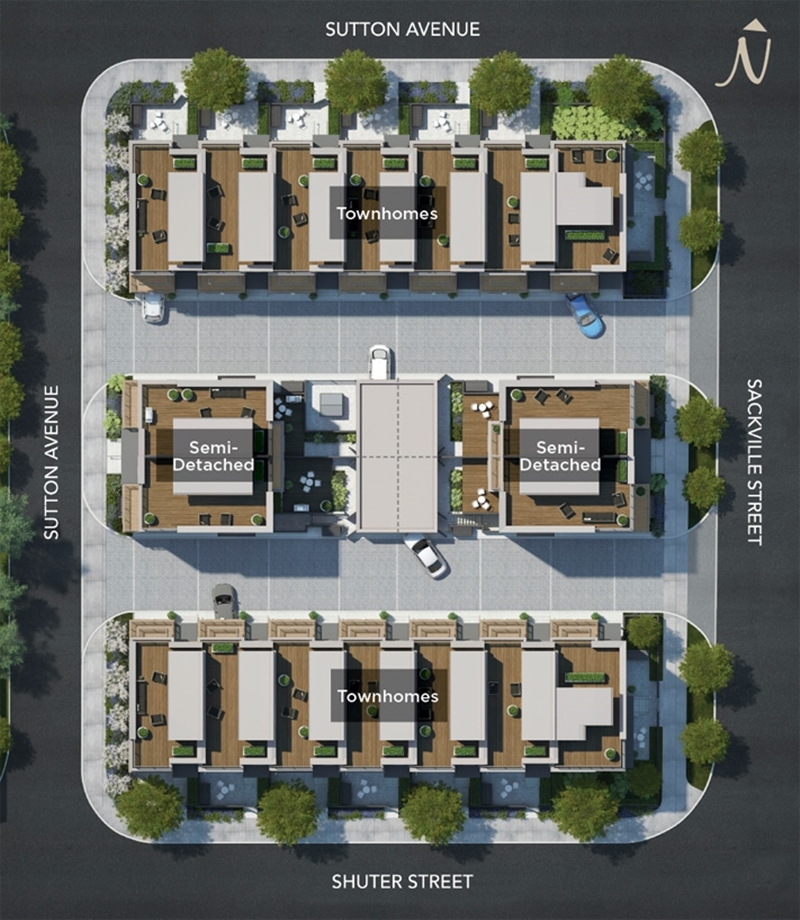 The Sutton Collection Townhomes Regent Park Life
