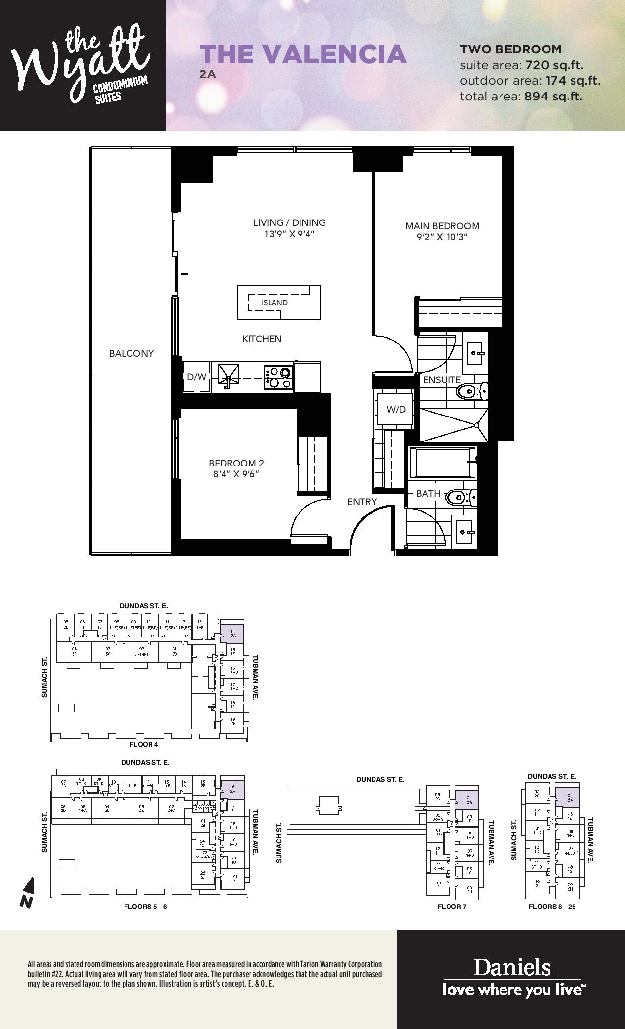 The Wyatt Condos - Regent Park Life Team - Platinum Release - All Floorplans + Features & Finishes-page-030