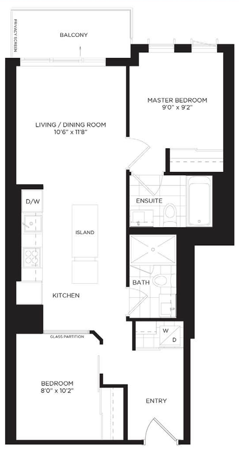 1608 170 sumach st designer 2 bedroom suite regent