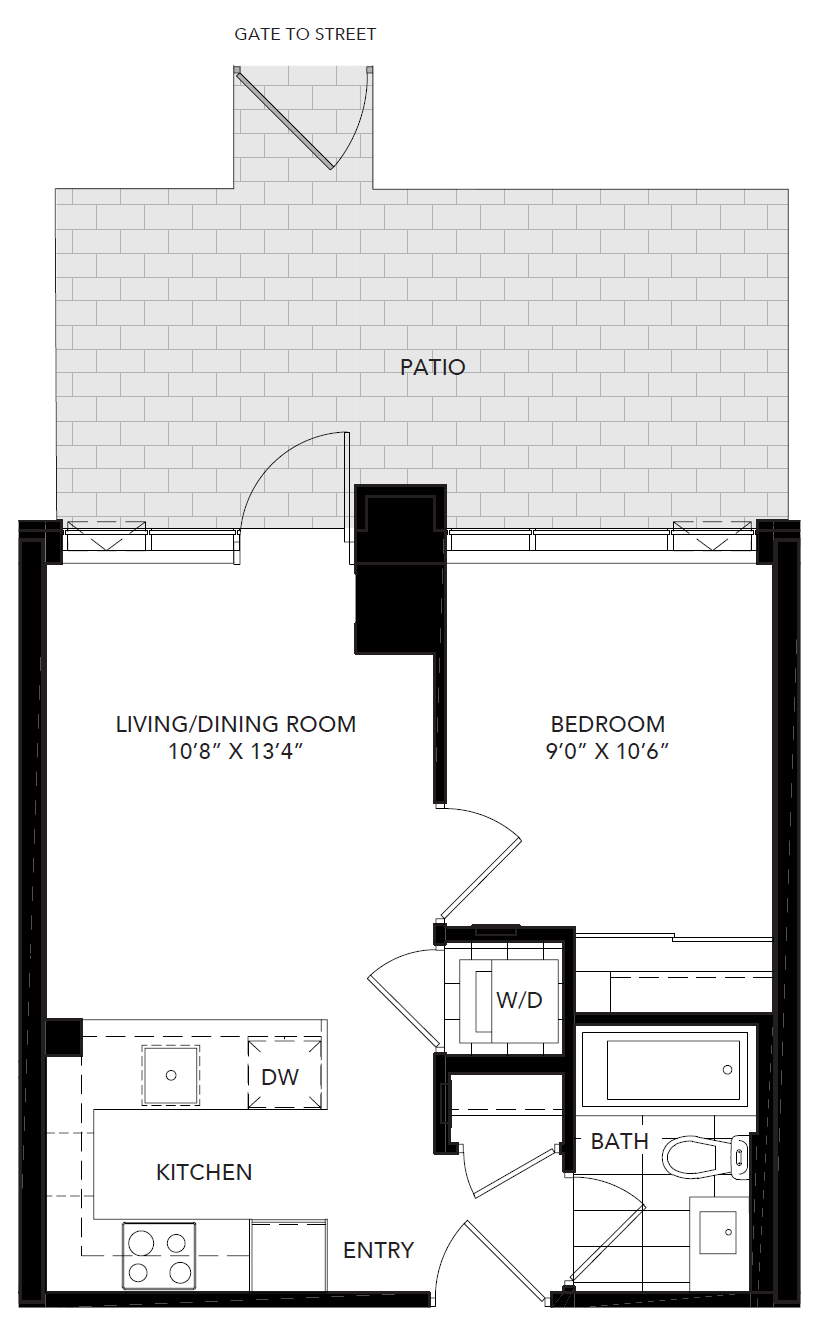 New 1 Bedroom Rental in Regent Park