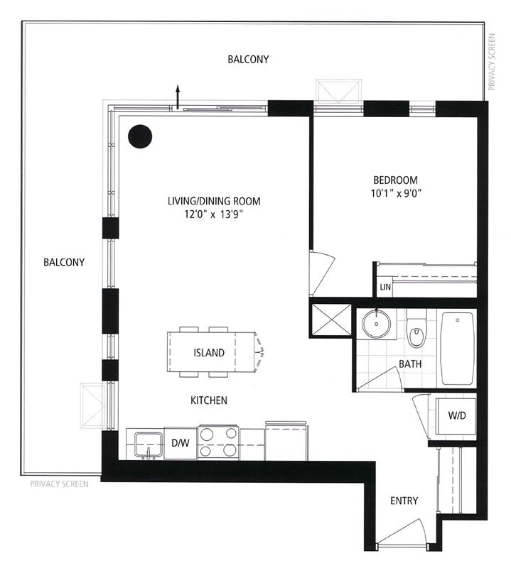 1105 - 260 Sackville St - Floorplan - 800px