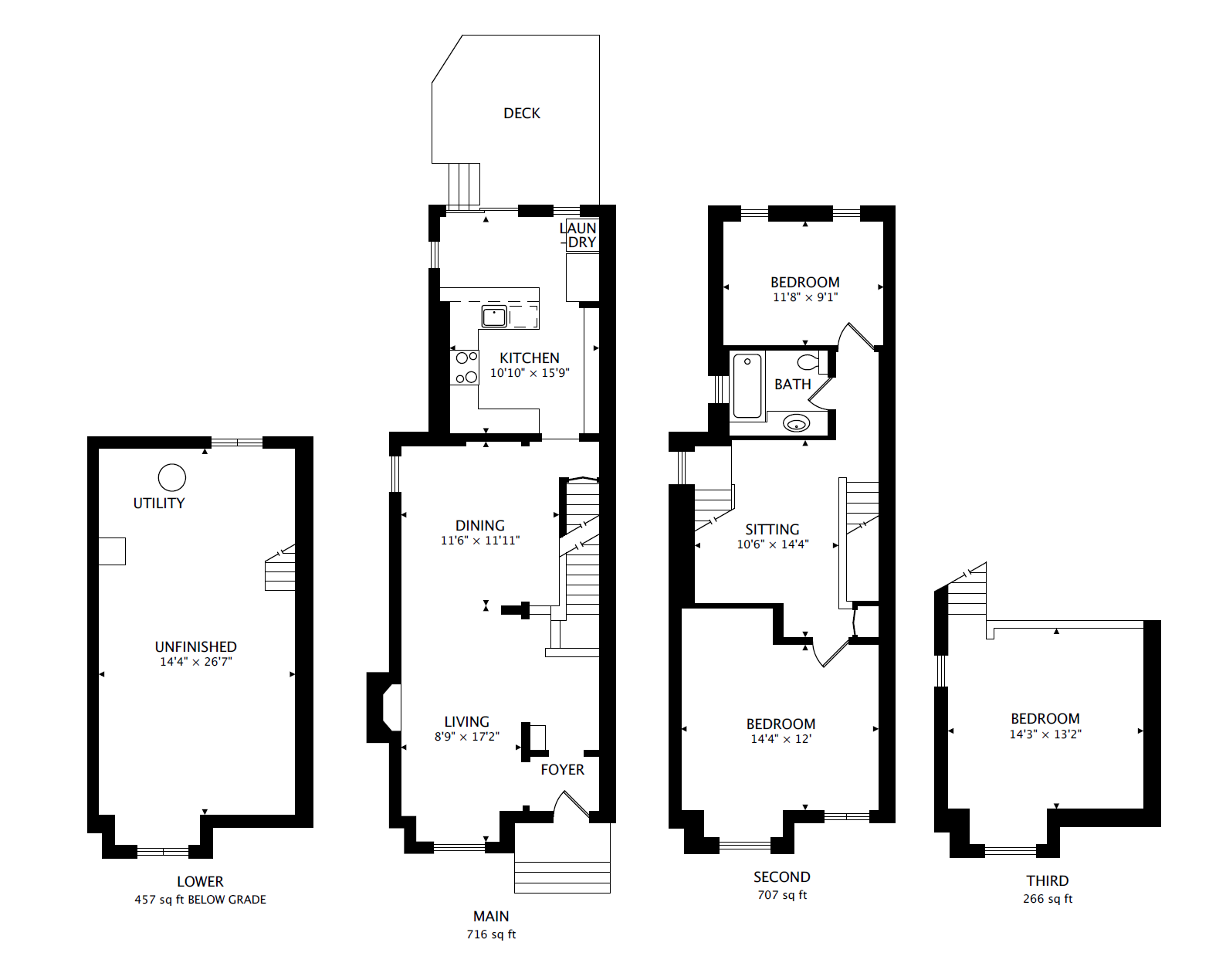 92 Sumach St - Floorplan - Wide