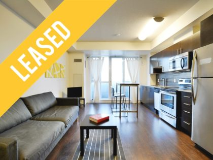 818 – 25 Cole St – Studio Rental at One Cole